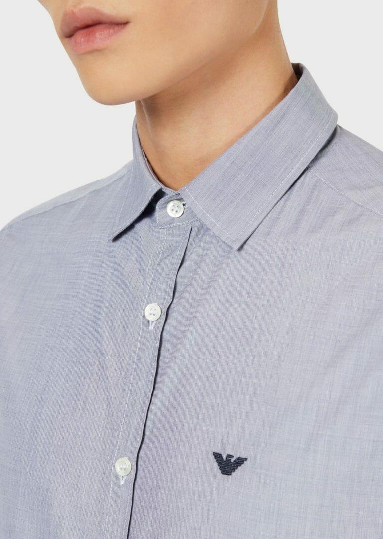 popielata koszula emporio armani 6