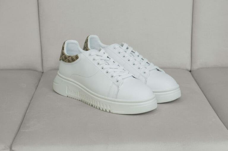 sneakersy emporio armani biale 5