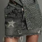 Szara spódnica Camden Star - OneTeaSpoon