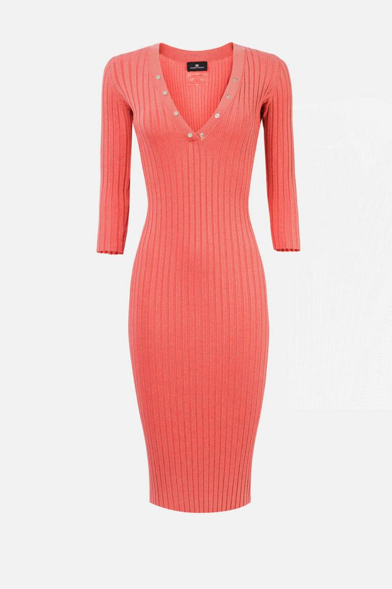 grejfrutowa sukienka elisabetta franchi2