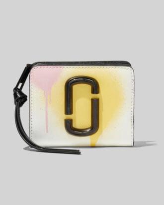 Portfel marc jacobs kolorowy z metalowym logo 3
