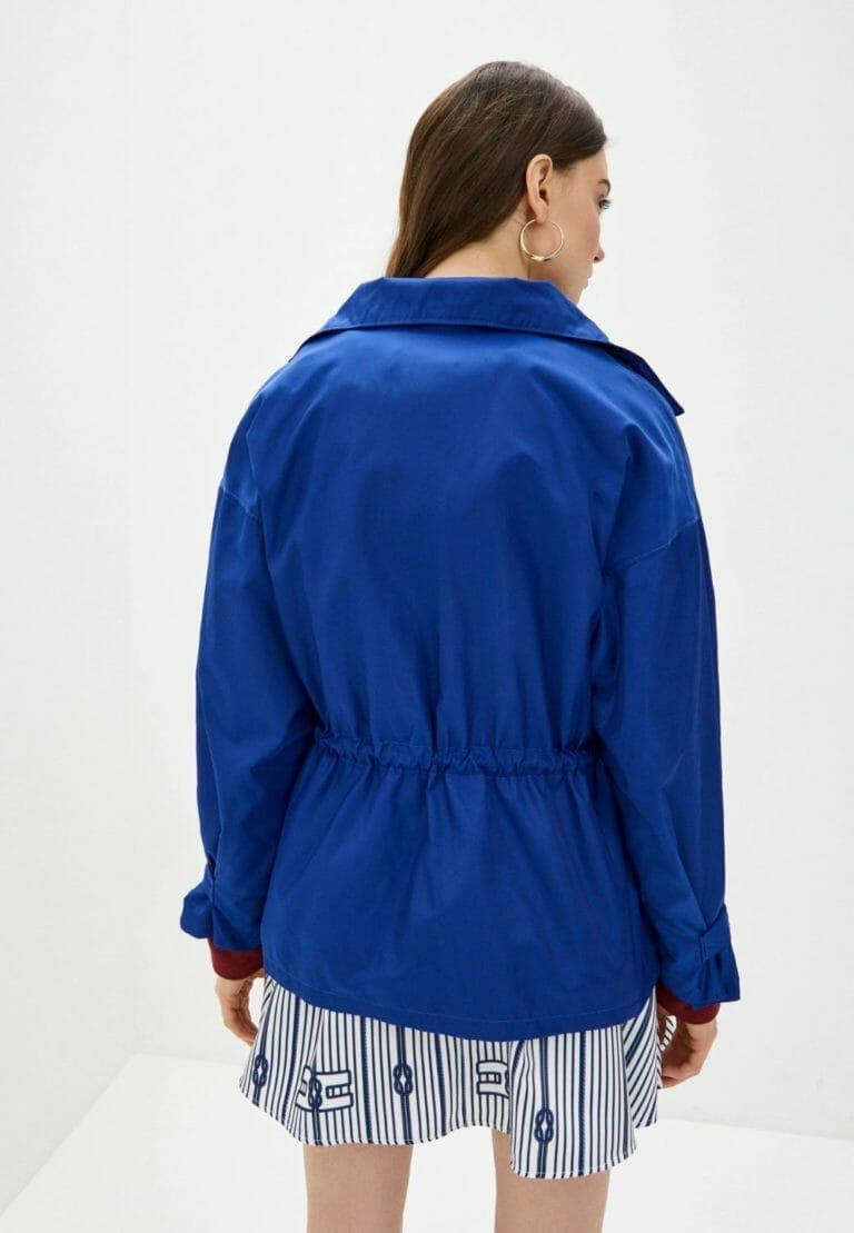 elisabetta franchi niebieska kurtka chabrowa kobaltowa 4