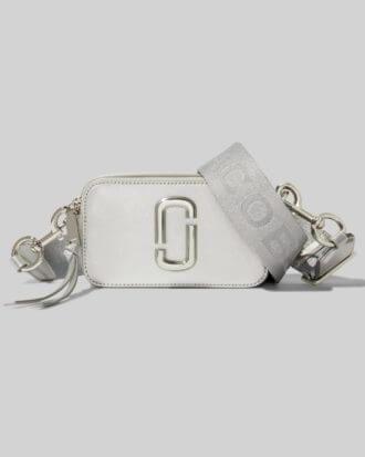srebrna torebka marc jacobs