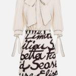 Sukienka 2w1 z printem - Elisabetta Franchi