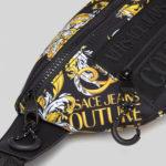 Saszetka nerka z barokowym wzorem - Versace Jeans Couture