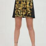 Spódnica z nadrukiem - Versace Jeans Couture