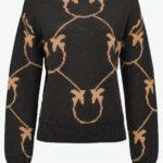 Sweter czarny Abbey Road - PINKO