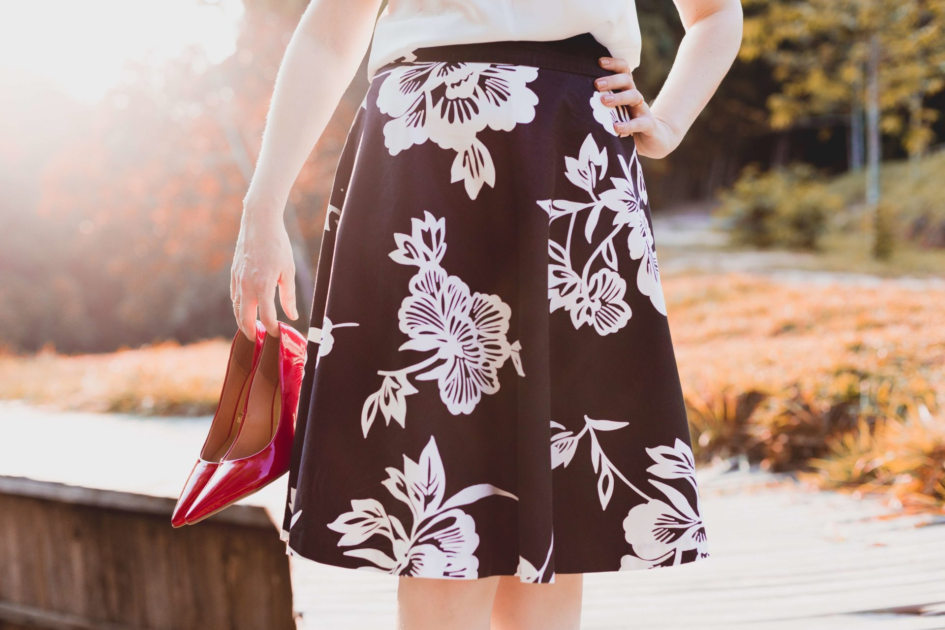 modna spódnica